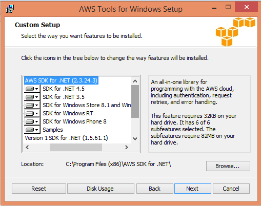 Installing AWS Tools for Windows | SQLServerSea